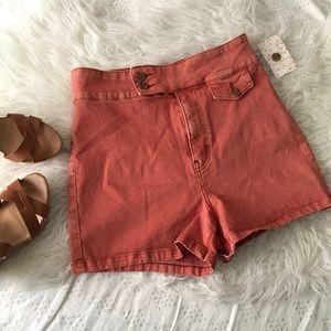 NWT Vintage Cut Highwaist Shorts // Free People
